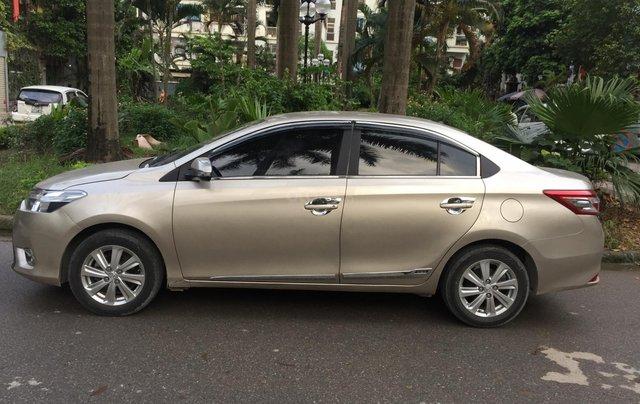 Chính chủ tôi cần bán chiếc Toyota Vios E 2014, số sàn màu cát vàng, ai có nhu cầu LH 09897933152