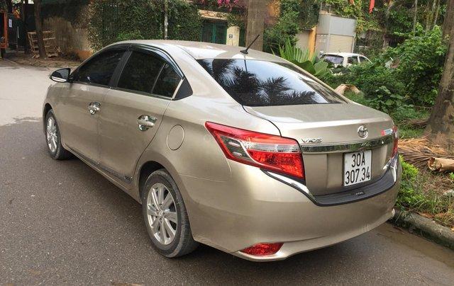 Chính chủ tôi cần bán chiếc Toyota Vios E 2014, số sàn màu cát vàng, ai có nhu cầu LH 09897933154