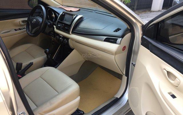 Chính chủ tôi cần bán chiếc Toyota Vios E 2014, số sàn màu cát vàng, ai có nhu cầu LH 09897933158