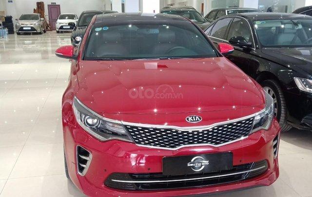 Bán xe Kia Optima 2.4 năm 2016, màu đỏ, giá 800tr4
