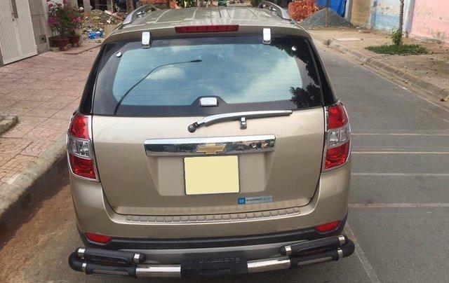 Cần bán xe Chevrolet Captiva 2010 số sàn máy dầu, màu vàng cát2