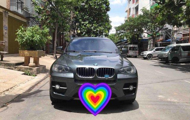Bán BMW X6 năm 2010, nhập nguyên chiếc, màu xanh nhớt còn rất mới, 950tr0