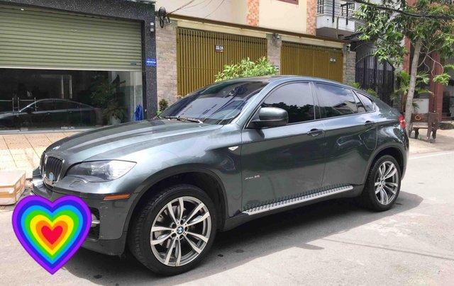 Bán BMW X6 năm 2010, nhập nguyên chiếc, màu xanh nhớt còn rất mới, 950tr1