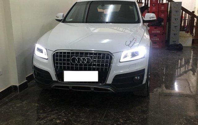 Bán xe Audi Q5 2.0 TFSI màu trắng/ đen sản xuất cuối 2016 nhập khẩu đăng ký 20170