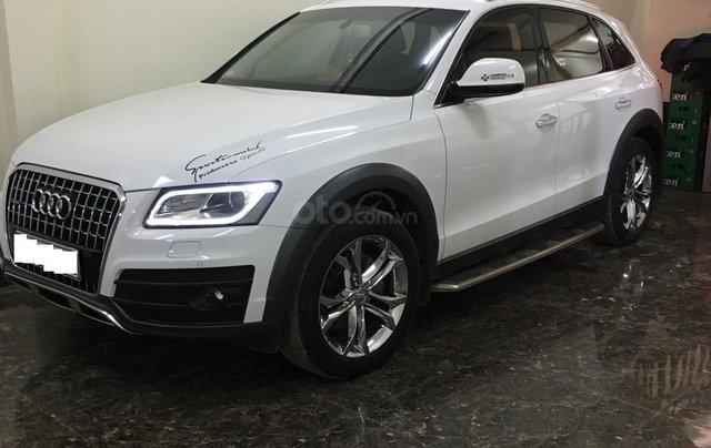 Bán xe Audi Q5 2.0 TFSI màu trắng/ đen sản xuất cuối 2016 nhập khẩu đăng ký 20171