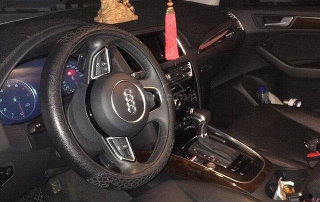 Bán xe Audi Q5 2.0 TFSI màu trắng/ đen sản xuất cuối 2016 nhập khẩu đăng ký 20173