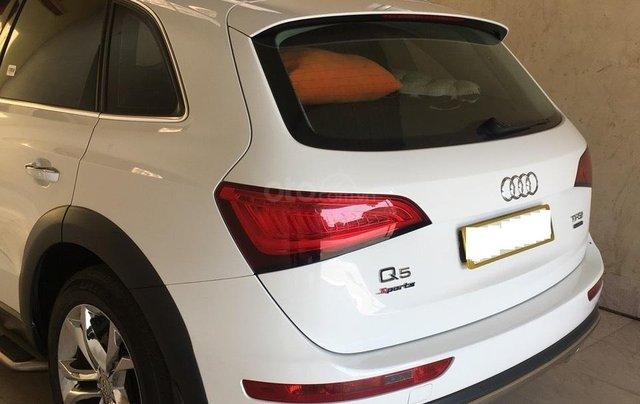 Bán xe Audi Q5 2.0 TFSI màu trắng/ đen sản xuất cuối 2016 nhập khẩu đăng ký 20178