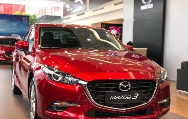 Mazda Biên Hoà bán xe Mazda 3 đời 2019, màu đỏ, xe nhập1
