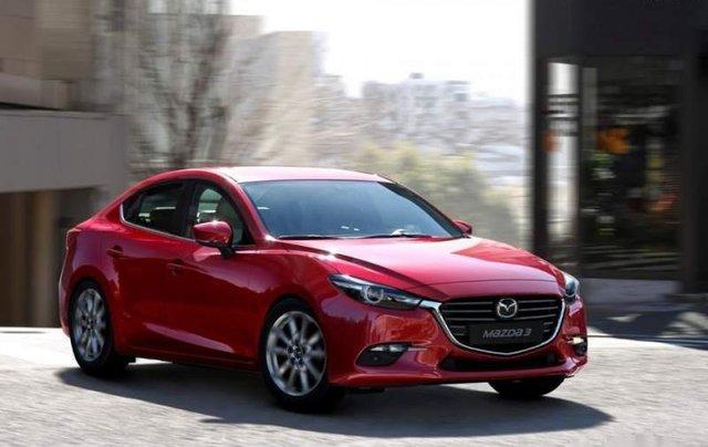 Mazda Biên Hoà bán xe Mazda 3 đời 2019, màu đỏ, xe nhập0