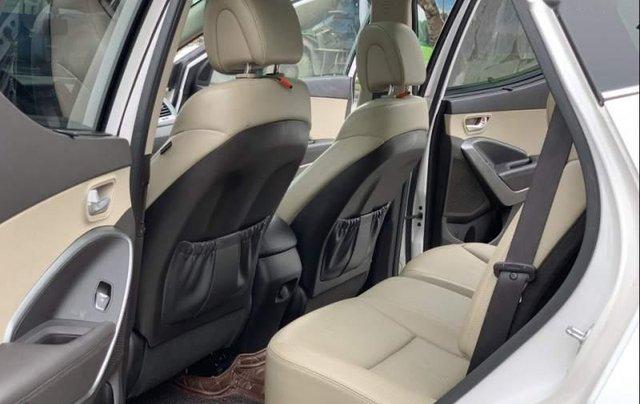 Bán Hyundai Santa Fe 2.4AT 2016, màu trắng, nhập khẩu nguyên chiếc như mới, giá tốt4