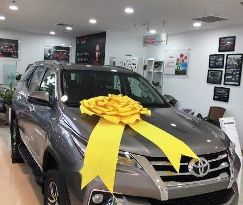 Cần bán xe Toyota Fortuner sản xuất năm 2019, màu xám1