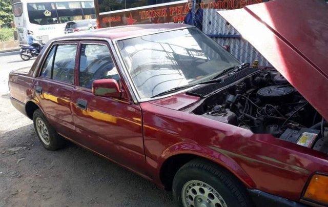 Bán Honda Accord đời 1985, màu đỏ, xe đẹp nguyên bản, đồng sơn chắc chắn0