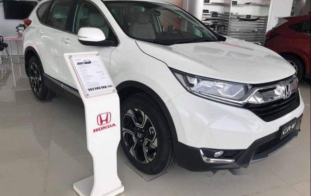 Cần bán xe Honda CR V sản xuất 2019, màu trắng, xe nhập Thái Lan0