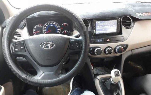 Bán xe Hyundai Grand i10 sản xuất 2014, màu bạc, nhập khẩu  4