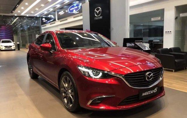 Bán Mazda 6 sản xuất 2019, màu đỏ, giá 819tr2