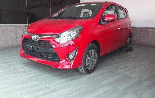 Bán Toyota Wigo 1.2 AT năm sản xuất 2019, màu đỏ, nhập khẩu nguyên chiếc Indonesia0