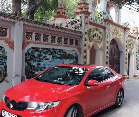 Bán ô tô Kia Cerato đời 2009, màu đỏ, xe đẹp3