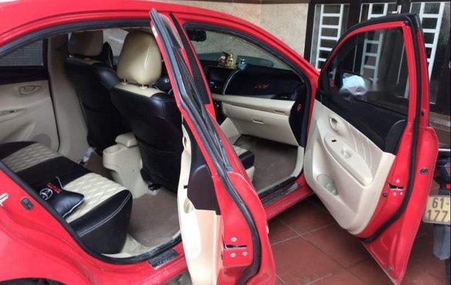 Cần bán Toyota Vios năm 2015, màu đỏ, xe nhập, giá tốt5