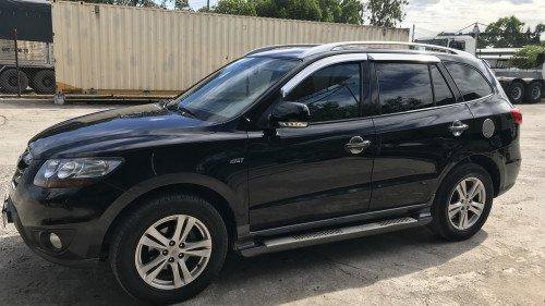 Bán Hyundai Santa Fe 2.0 AT đời 2009, màu đen, 640tr 2