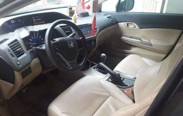 Bán Honda Civic sản xuất năm 2013, màu đen, máy êm1