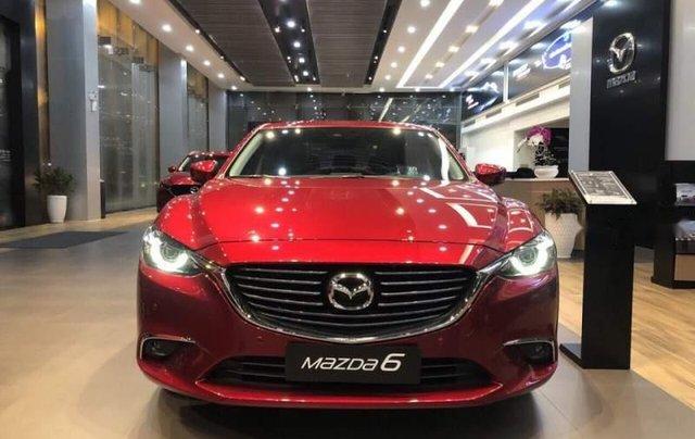 Bán Mazda 6 sản xuất 2019, màu đỏ, giá 819tr3