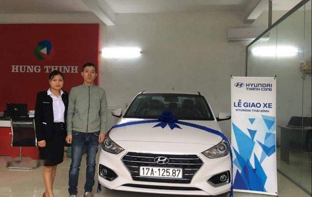 Bán Hyundai Accent sản xuất năm 2018, màu trắng0