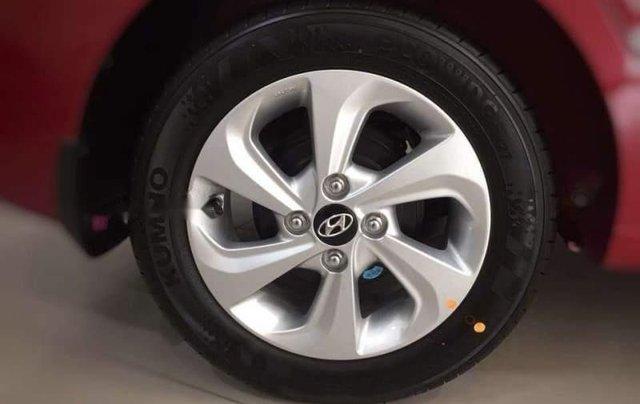 Bán Hyundai Grand i10 2019, màu đỏ, giá 350tr5