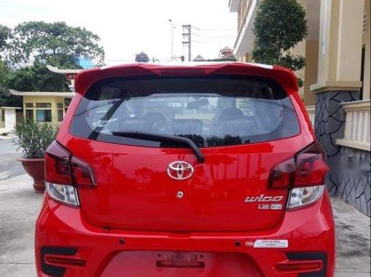 Bán Toyota Wigo 1.2 AT năm sản xuất 2019, màu đỏ, nhập khẩu nguyên chiếc Indonesia1
