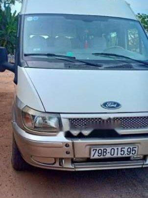 Bán xe Ford Transit 16 chỗ, đời 2006, màu trắng, xe còn đẹp1