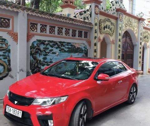 Bán ô tô Kia Cerato đời 2009, màu đỏ, xe đẹp4