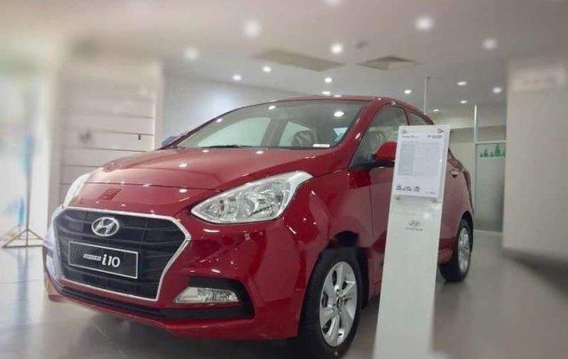 Bán Hyundai Grand i10 2019, màu đỏ, giá 350tr2