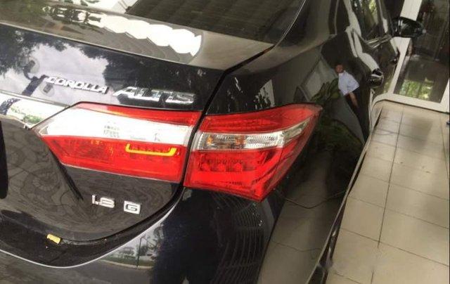 Bán Toyota Corolla altis 1.8G sản xuất 2015, màu đen, nhập khẩu1
