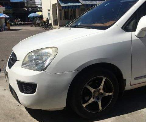 Cần bán Kia Carens đời 2009, màu trắng, nhập khẩu, giá 230tr1