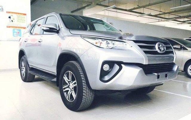 Cần bán lại xe Toyota Fortuner đời 2016, màu bạc, còn BH hãng