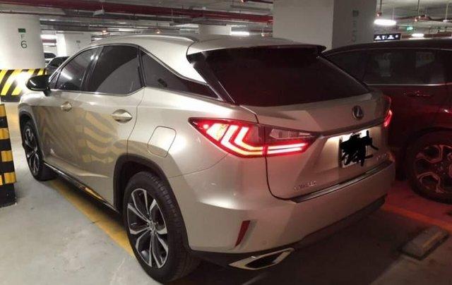Chính chủ bán Lexus RX 200T năm 2016, màu vàng, nhập khẩu2