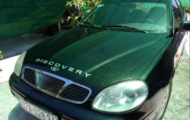 Cần bán Daewoo Leganza MT sản xuất 2001, màu đen, xe còn nguyên bản, máy êm4