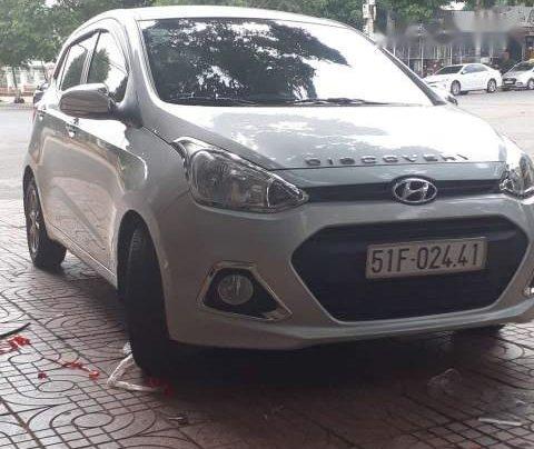 Bán xe Hyundai Grand i10 sản xuất 2014, màu bạc, nhập khẩu  1