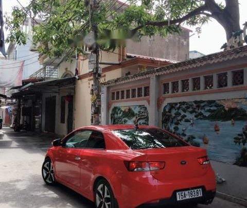 Bán ô tô Kia Cerato đời 2009, màu đỏ, xe đẹp2