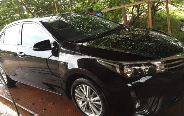 Bán Toyota Corolla altis 1.8G sản xuất 2015, màu đen, nhập khẩu0