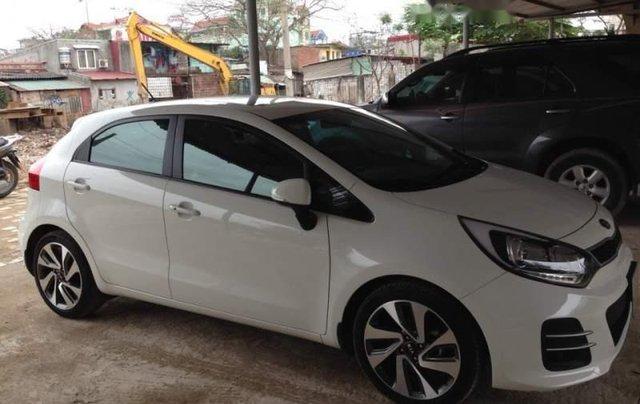 Bán xe Kia Rio sản xuất 2015, màu trắng, nhập khẩu nguyên chiếc như mới1