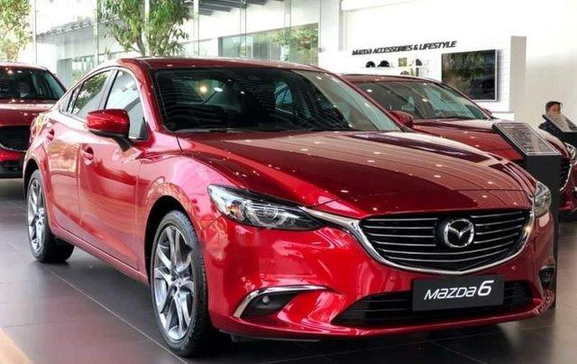Mazda Biên Hoà bán Mazda 6 đời 2019, màu đỏ, nhập khẩu nguyên chiếc, 886tr0