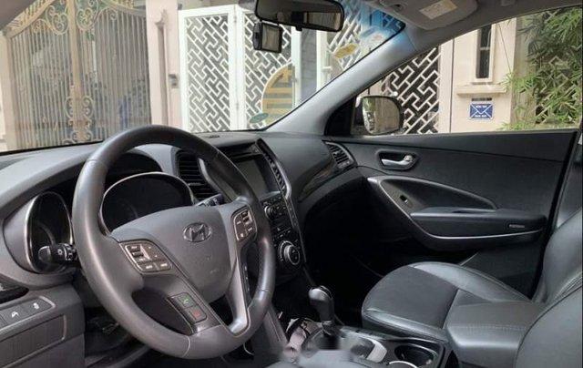 Bán xe Hyundai Santa Fe đời 2016, màu trắng, đăng kiểm lần đầu 2/2016, đi 4 vạn km5