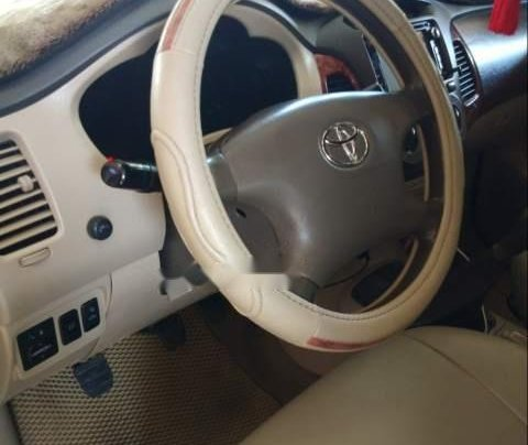 Cần bán xe Toyota Innova đời 2008, màu bạc, xe nguyên bản3