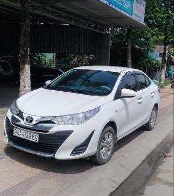 Bán ô tô Toyota Vios năm 2019, màu trắng, xe zin 100%0