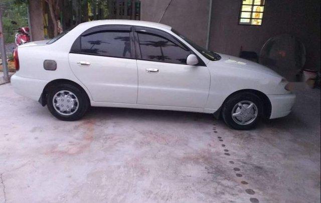 Bán ô tô Daewoo Lanos MT năm 2003, màu trắng, xe nội thất mới nguyên zin0