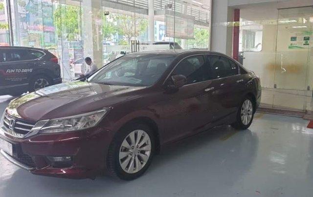Bán xe Honda Accord nhập khẩu Thái Lan, biển HCM, gia đình đi sử dụng kỹ, đi ít0