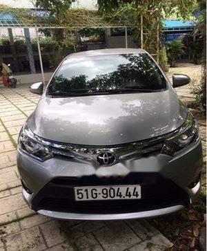 Bán Toyota Vios G sản xuất năm 2016, màu bạc, chính chủ