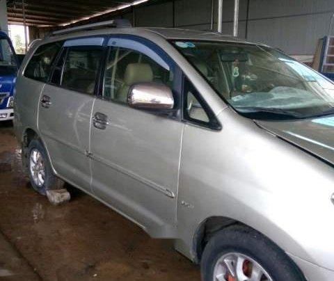 Cần bán gấp Toyota Innova MT đời 2008, màu bạc, nhập khẩu nguyên chiếc, giá 335tr0