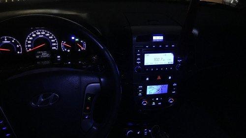 Bán Hyundai Santa Fe 2.0 AT đời 2009, màu đen, 640tr 12
