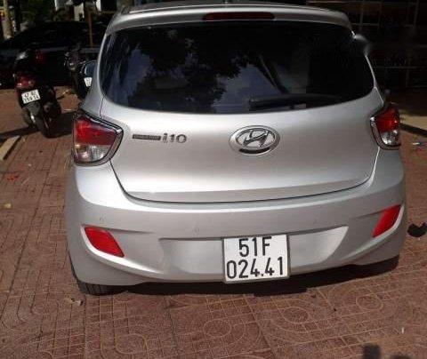Bán xe Hyundai Grand i10 sản xuất 2014, màu bạc, nhập khẩu  3
